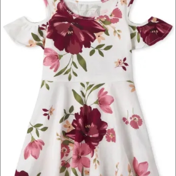 TCP Short Sleeve Floral Dress, Size 5T